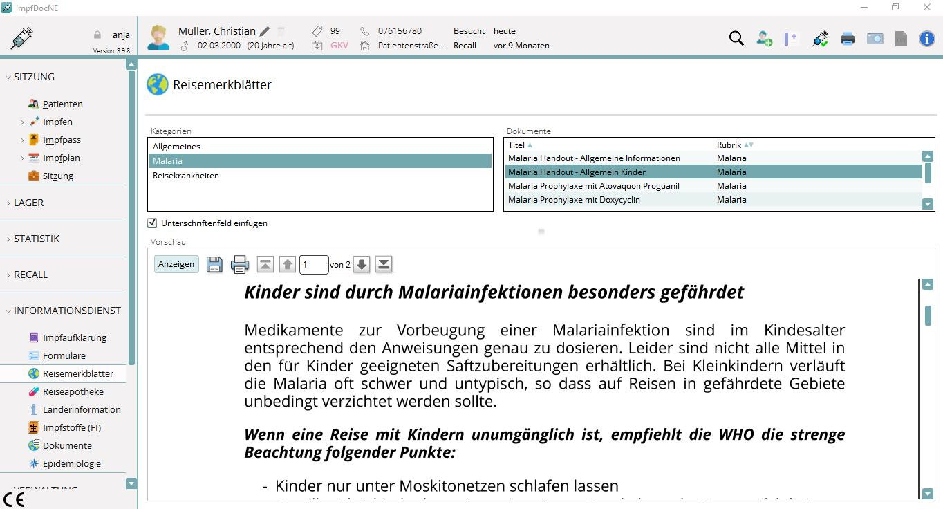 MEDICAL OFFICE Impfen Infodienst
