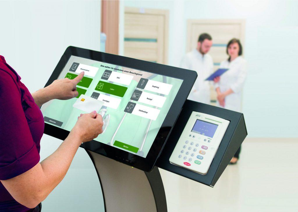 Patienterminal Praxissoftware MEDICAL OFFICE Anwendung